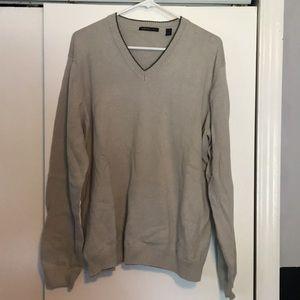 Tan Van Heusen Sweater
